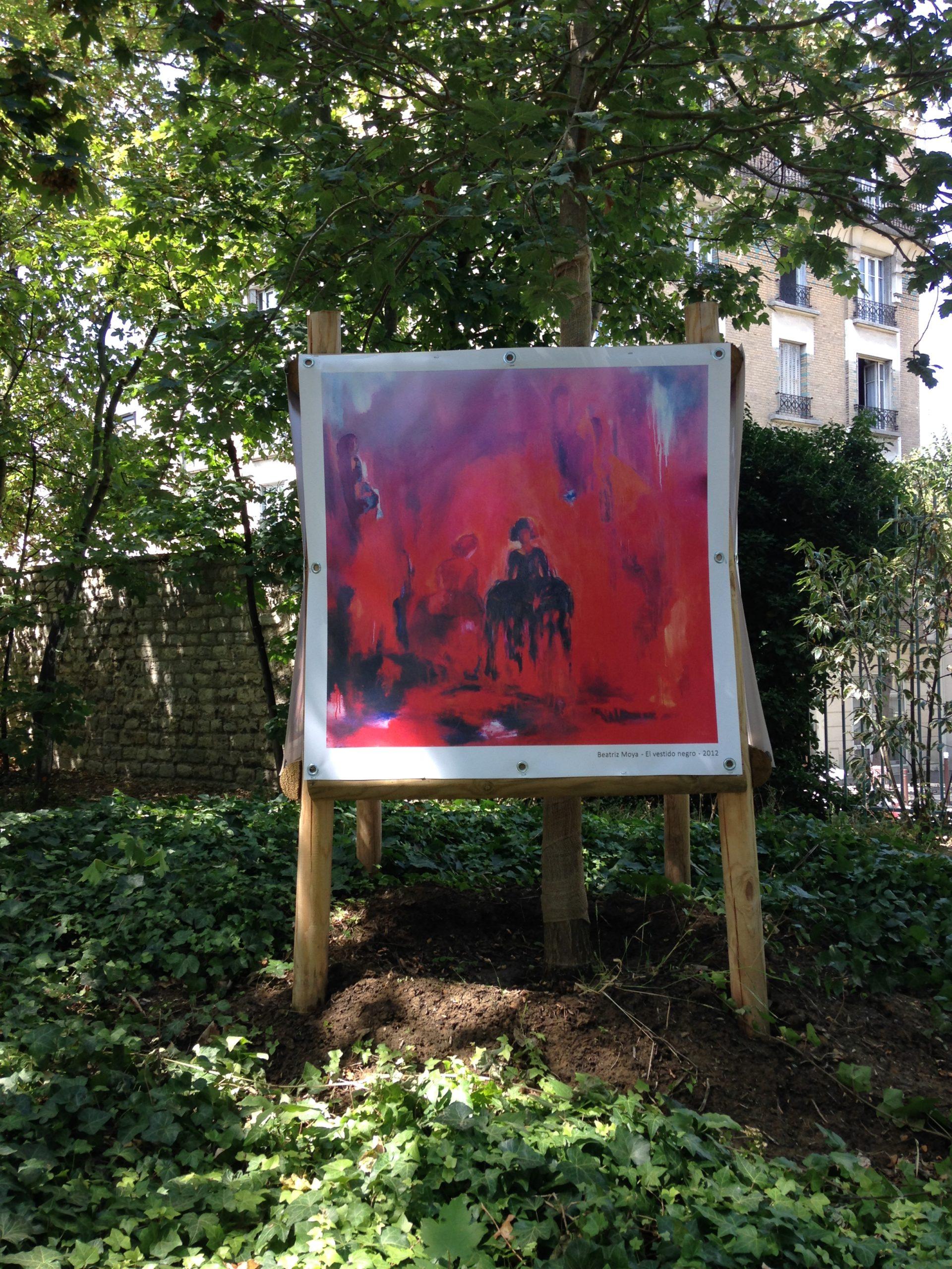 Installation au parc Pinel - Les Estivales 2020 - Le Kremlin-Bicêtre 94